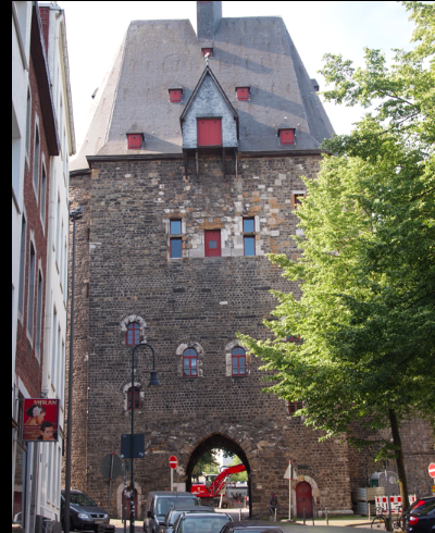13th century Marchiertor tower gate