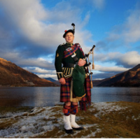 Dingwall, British Ales and Scottish Bagpipes
