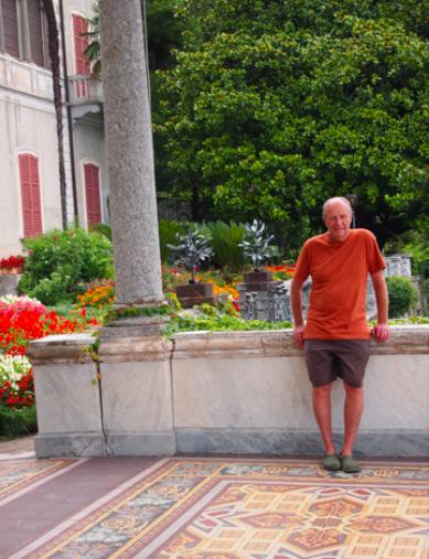 Arabesque portico at Villa Montaresco