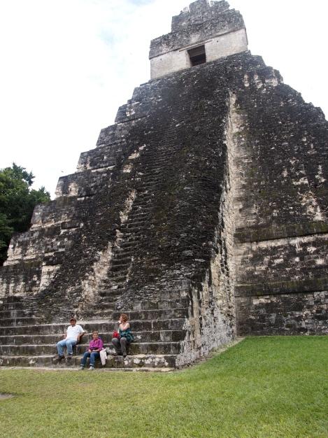 Jaguar temple steps