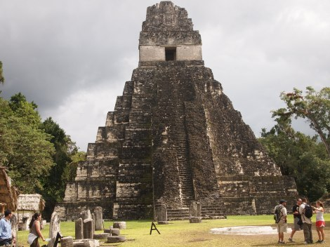 Grand Jaguar temple