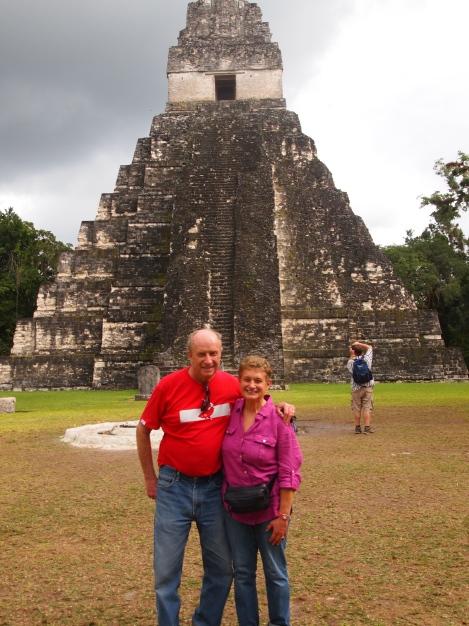 Mayan trekers