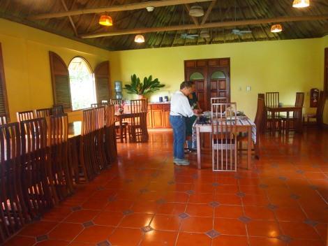 Casa del Blanco Caballo dining room