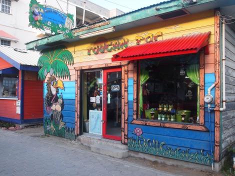 San Pedro souvenir shop