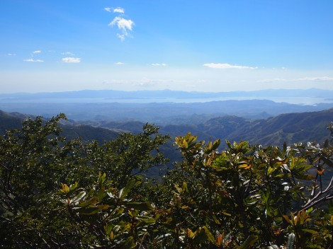 Puntarenas peninsula from Monteverde