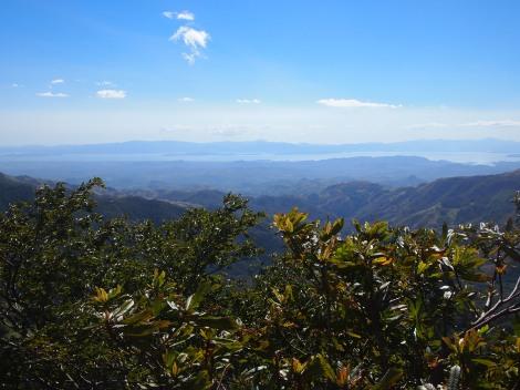 Puntarenas peninsula from Monteverde