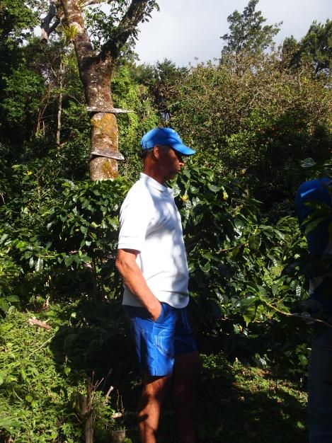 Juan Laiten, small coffee farmer