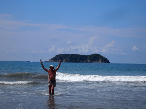 Another day swimming at Manuel Antonio