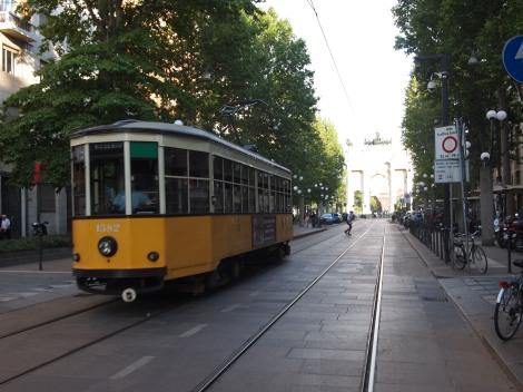 # 19 tram I took daily along Corso Sempione