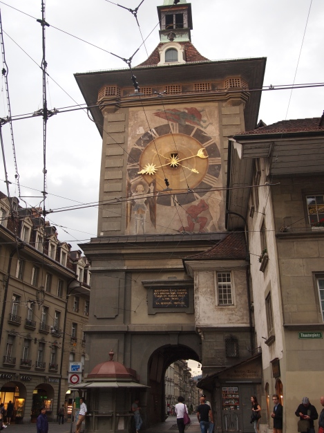 Zytglogge - Bern's first city gate
