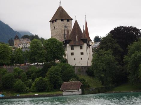Schloss Speiz from Thunersee