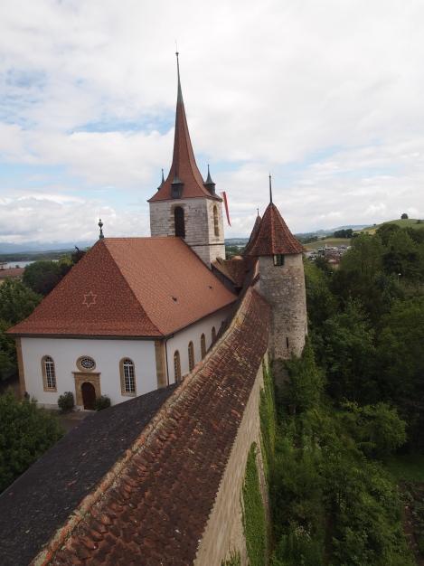 German Lutheran church in Murten