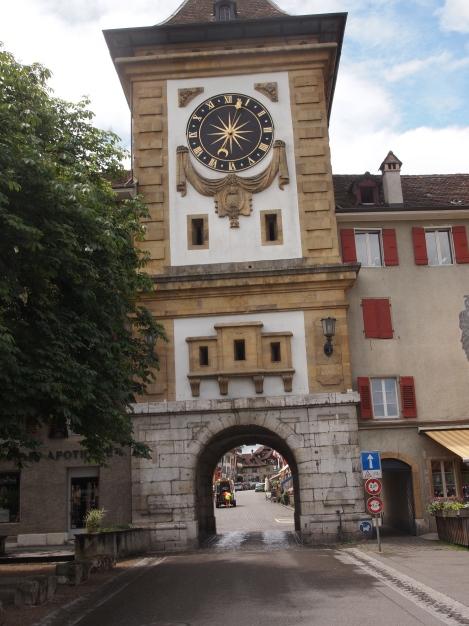 Bern gate into aldstadt