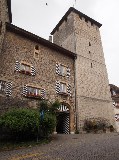 Murten castle, now administrative offices for the canton