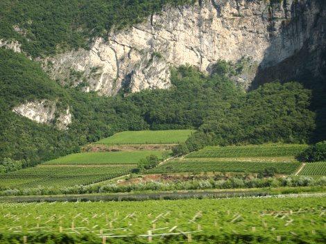 Brenner Pass in Italian Dolomites