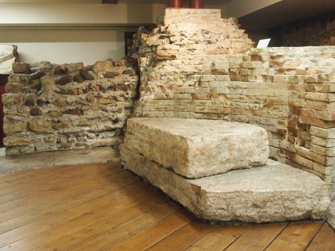 Recovered Roman ruins