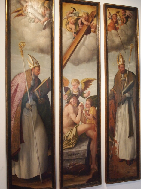 Altarpiece from Diocesan museum