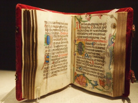 Medieval bible in Diocesan archive