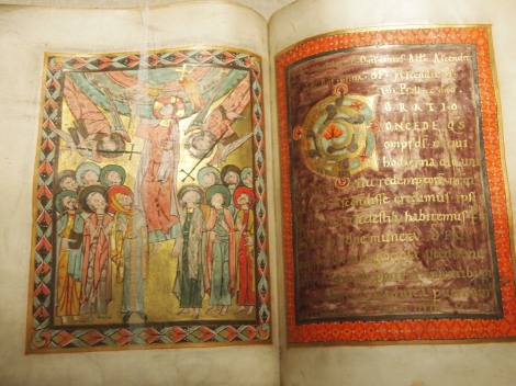 Religious manuscript from Diocesan archives