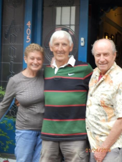 British friend, Rod Crane, adventure traveler