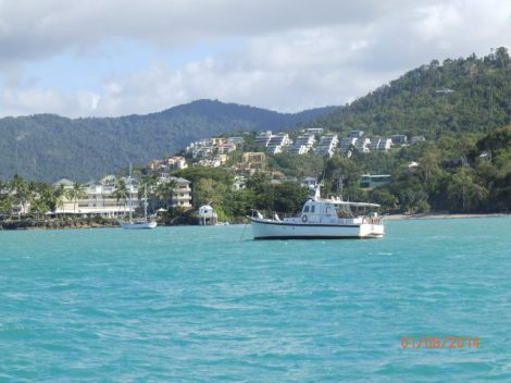 Returning to Airlie Beach