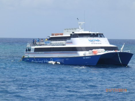 Sister ship of our Prodive boat already on the reef