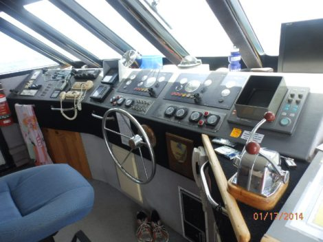 Cabin of our Pro Dive boat