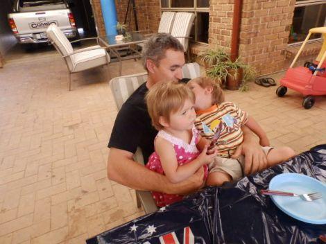 Malcolm, Ethan & Ava