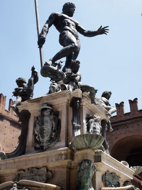 Nettuno fountain in Piazza Maggiore