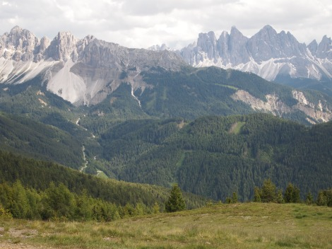 Dolomites from Val Croce