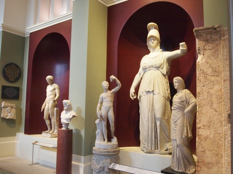 Statuary hall in Ashmolean Museum