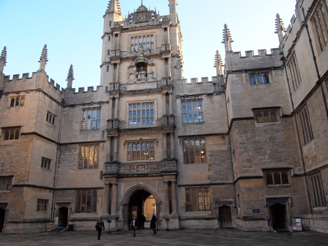 Bodleian Library courtyard