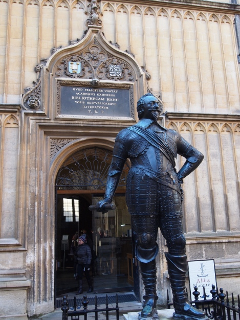 Entrance to Bodleian Library